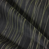 Luna Textiles Beam Prism Stripe Gray Upholstery Fabric