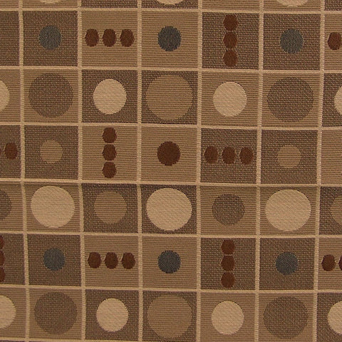 Upholstery Fabric Circle Check Bento Jazz Toto Fabrics