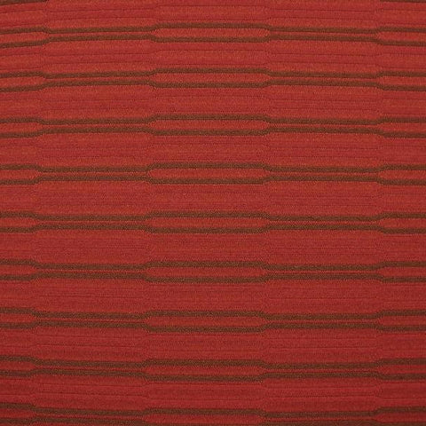 HBF Textiles Upholstery Fabric Remnant Beveled Line Cardinal