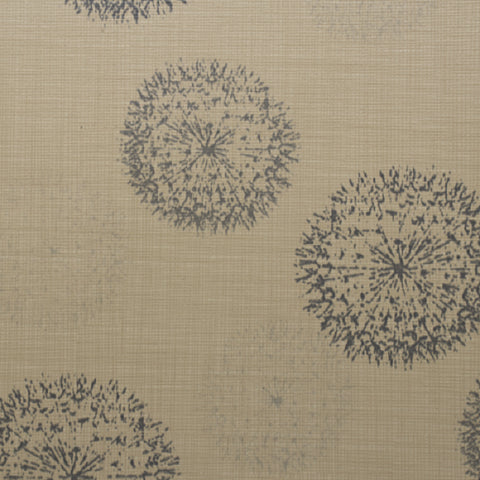 Anzea Big Bang Proton Abstract Design Tan Upholstery Vinyl