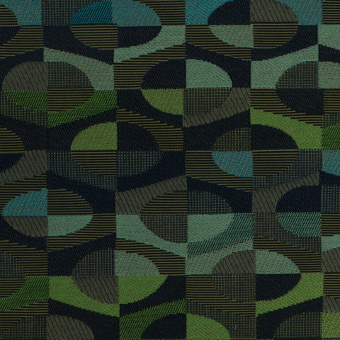 Knoll Upholstery Fabric Colorful Geometric Bistro Pistachio Toto Fabrics
