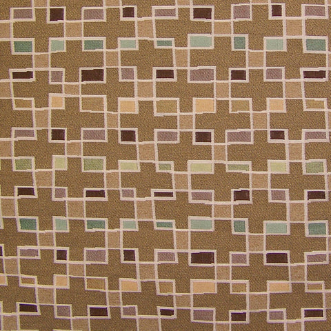 Arc-Com Fabrics Upholstery Fabric Remnant Block Party Sand