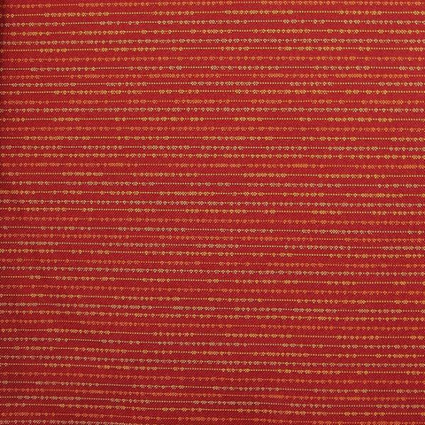 Knoll Bocce Picnic Textured Stripe Red Upholstery Fabric