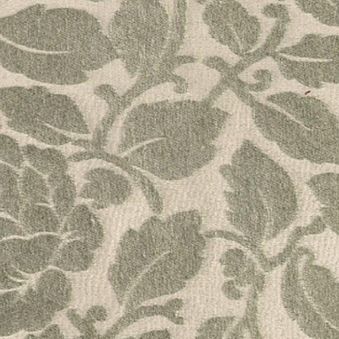 Upholstery Fabric Chenille Floral Pattern Breen Khaki Toto Fabrics