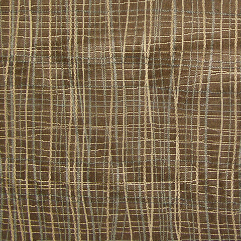 Architex Upholstery Fabric Crypton Wavy Stripe Brook Bark