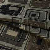 Swavelle Mill Creek Upholstery Fabric Geometric Cambridge Sable Toto Fabrics