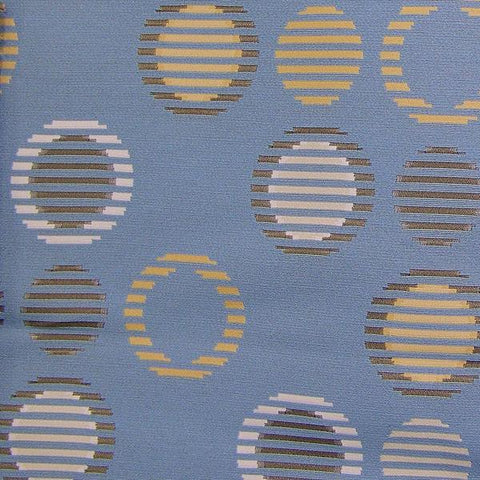 Arc-Com Cirque Sky Crypton Blue Upholstery Fabric