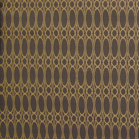 Arc-Com Upholstery Fabric Oval Stripe Clarion Storm Toto Fabrics