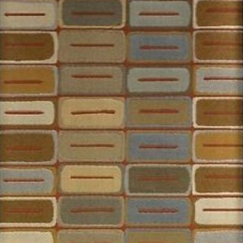 HBF Textiles Upholstery Fabric Geometric Design Clay Wall Slate Toto Fabrics