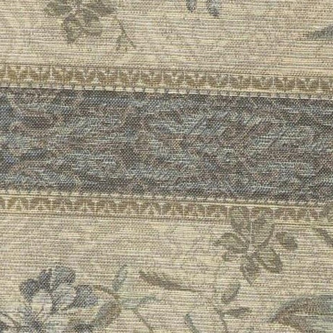 Upholstery Fabric Floral Panel Stripe Cleveland Seamist Toto Fabrics
