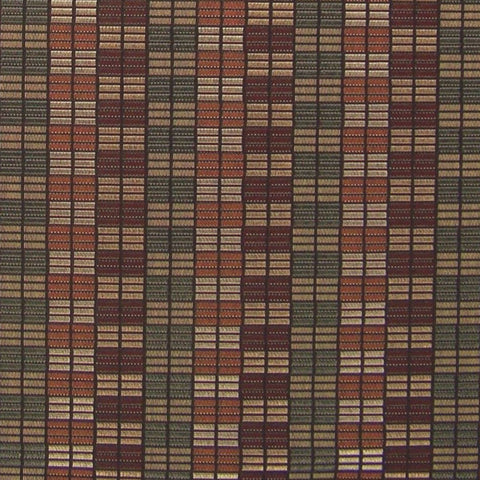 Upholstery Fabric Rectangle Check Click Color 10 Toto Fabrics