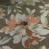 Swavelle Mill Creek Cloverfield Sorbet Floral Taupe Upholstery Fabric