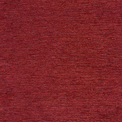 Arc-Com Coastline Flame Chenille Red Upholstery Fabric