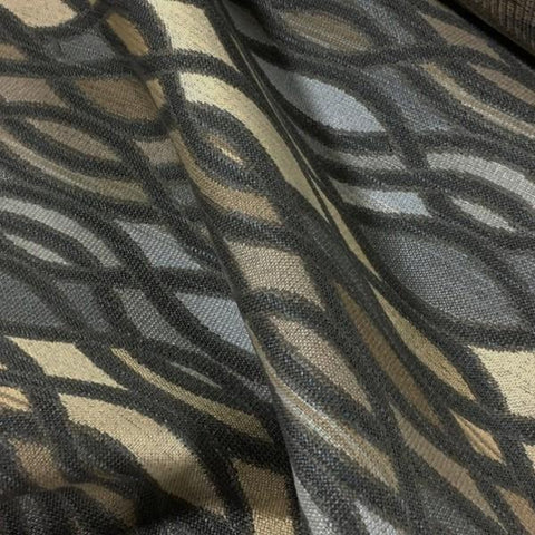 Swavelle Mill Creek Cohert March  Brown Upholstery Fabric