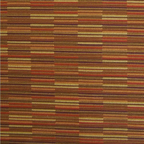 Maharam Coincide Aurora Multicolored Stripe Upholstery Fabric