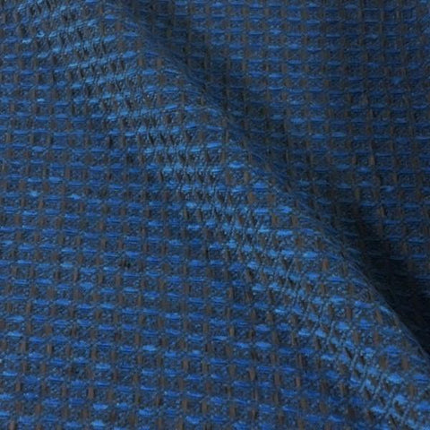 HBF Complex Sky Chenille Blue Textured Upholstery Fabric