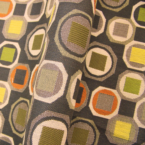 Designtex Concept Delft Colorful Geometric  Upholstery Fabric