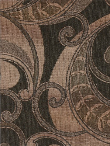 Upholstery Fabric Paisley Scroll Design Cowett Pesto Toto Fabrics
