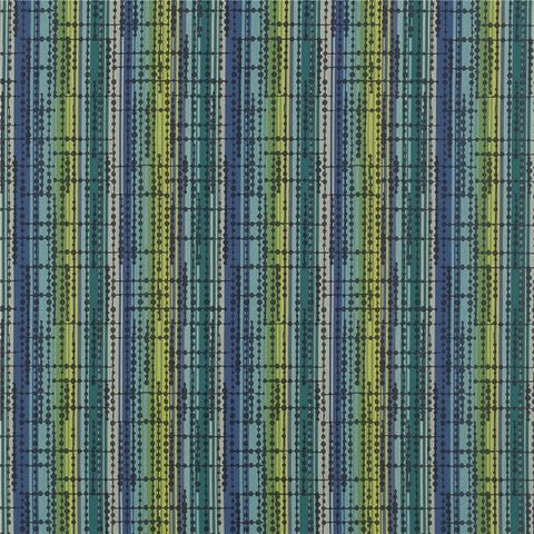 Architex Crossover Beryl Stripe Green Upholstery Fabric