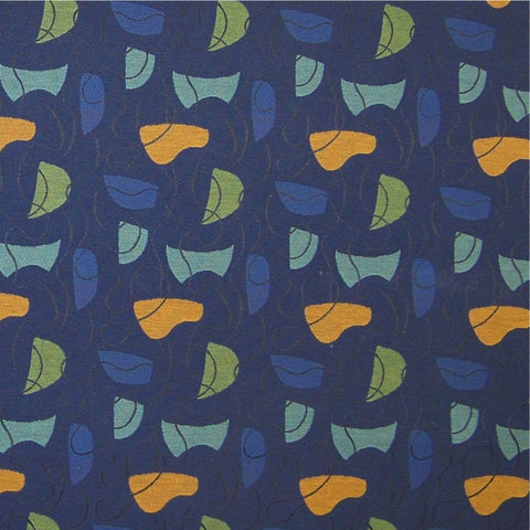 CF Stinson Upholstery Fabric Modern Geometric Curves Ahead Spin