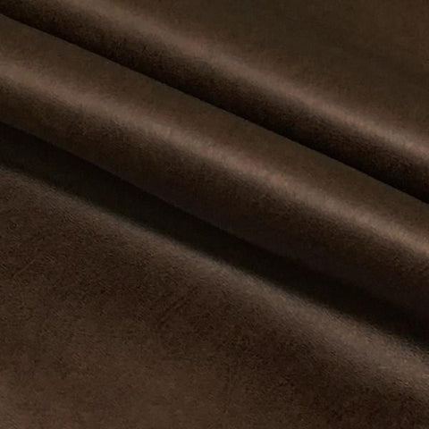 Richloom Upholstery Fabric Solid Faux Leather  Diego Saddle Toto Fabrics