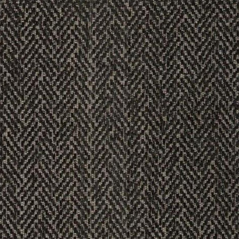 Upholstery Fabric Herringbone Design Donnelly Ebony Toto Fabrics