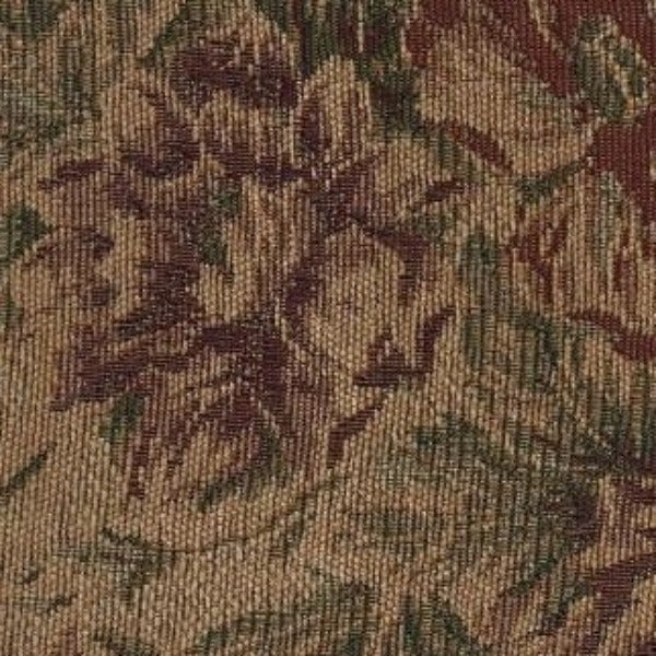 Upholstery Fabric Floral Chenille Dorance Sienna Toto Fabrics