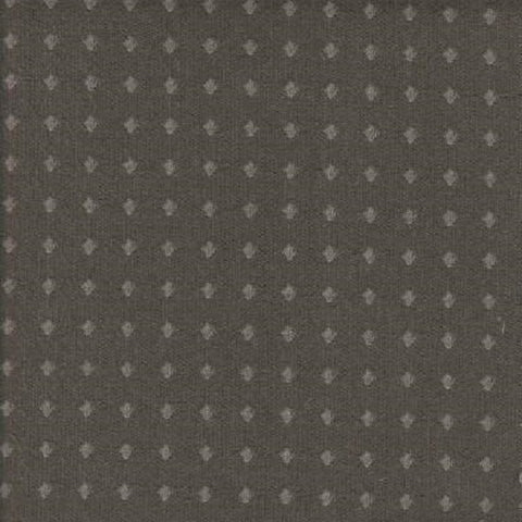 Dots Slate Durable Wool Grey Upholstery Fabric