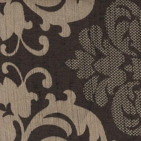 Upholstery Fabric Damask Dumfries Chocolate Toto Fabrics