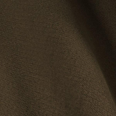 Echo Cappuccino Herringbone Faux Suede Brown Upholstery Fabric