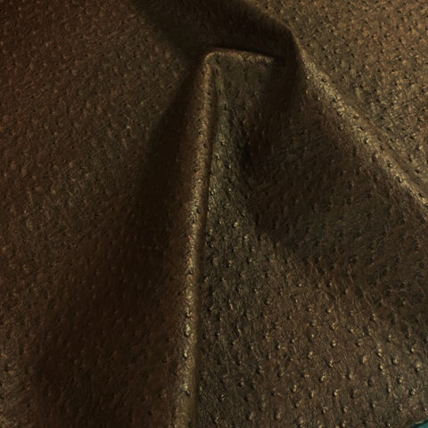 Emu Espresso Faux Leather Brown Upholstery Vinyl