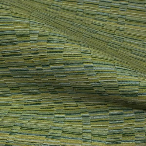 Momentum Flow Keylime Stripe Green Upholstery Fabric