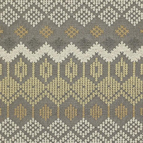 Sina Pearson Folklore 455 Till Modern Gray Upholstery Fabric
