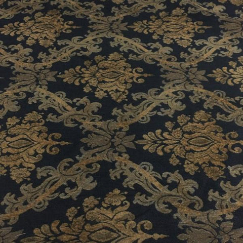 Swavelle Mill Creek Upholstery Fabric Tapestry Fuller Noir Toto Fabrics