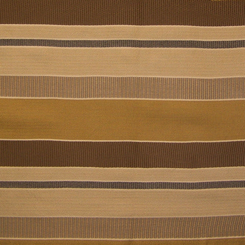 Upholstery Fabric Brown Herringbone Stripe Gobi Gold Dusk Toto Fabrics