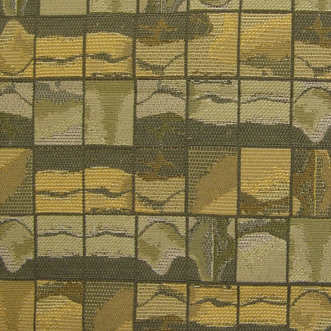 Upholstery Fabric Abstract Grid Happenstance Loden Toto Fabrics