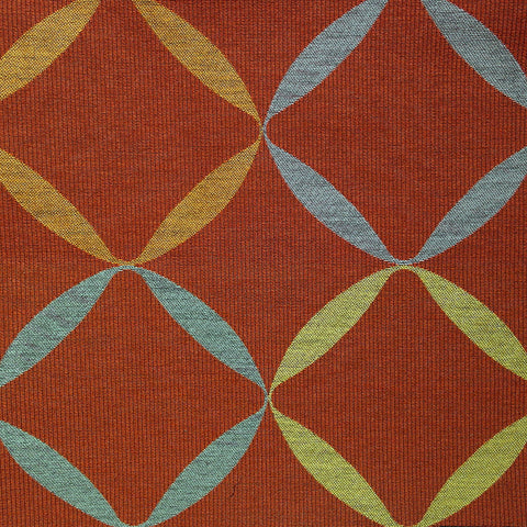Remnant of Maharam Helix Glow Red Upholstery Fabric