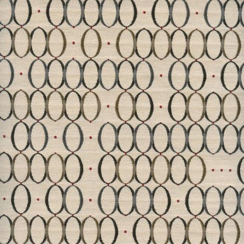 Designtex Inertia Newsprint Geometric Circle Dot Upholstery Fabric