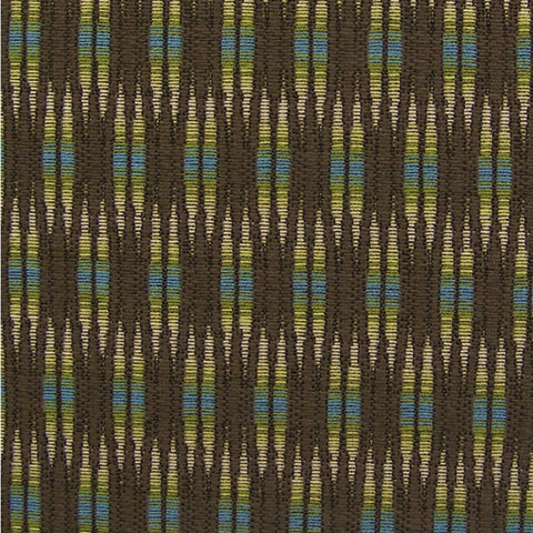 Upholstery Fabric Colorful Stripe Upholstery Inlay Chocolate Toto Fabrics