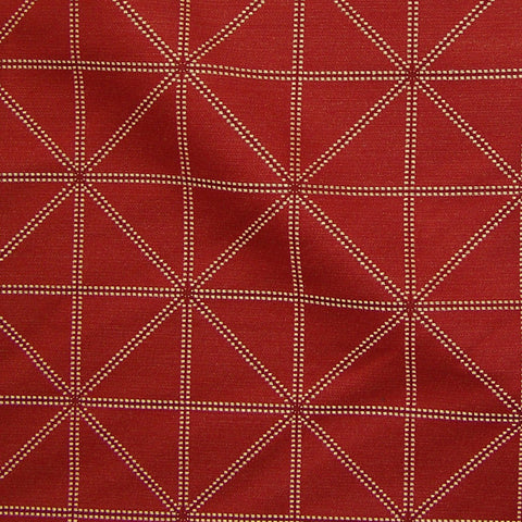 Arc-Com Fabrics Upholstery Fabric Remnant Intersect Cherry