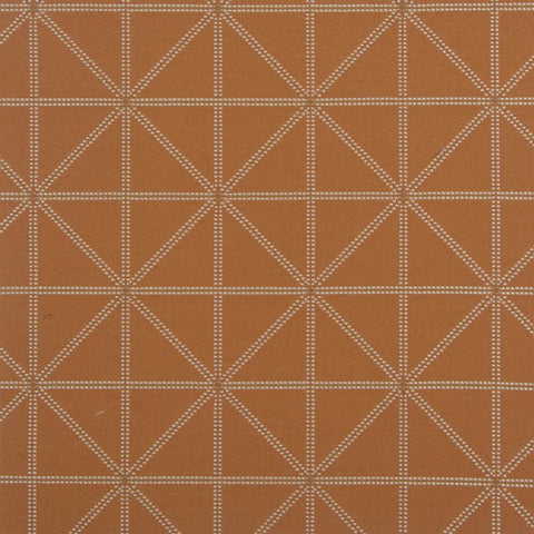 Arc-Com Fabrics Upholstery Fabric Orange Geometric Stripe Intersect Mango Toto Fabrics