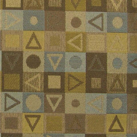 Upholstery Fabric Colorful Geometric Crypton Jax Spa Toto Fabrics