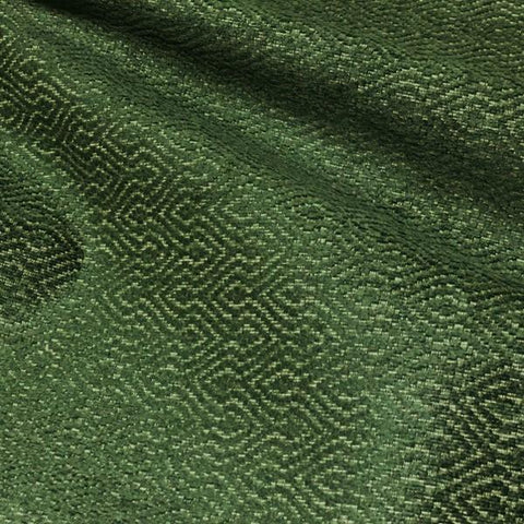 Robert Allen Jerry Point Moss Chenille Green Upholstery Fabric
