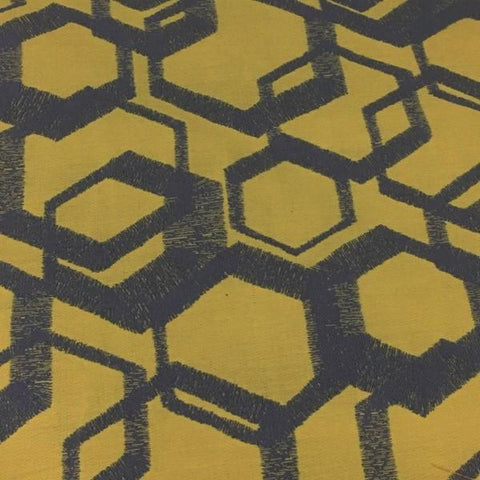 Arc-Com Jive Sunshine Modern Design Yellow Upholstery Fabric