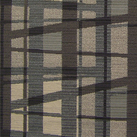 Momentum Upholstery Fabric Contemporary Geometric Juncture Shale Toto Fabrics