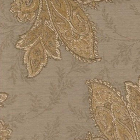Swavelle Mill Creek Upholstery Fabric Paisley Floral Kashmir Oatmeal Toto Fabrics