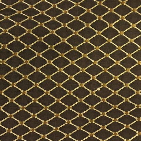 Swavelle Mill Creek Kent Chocolate Diamond Brown Upholstery Fabric