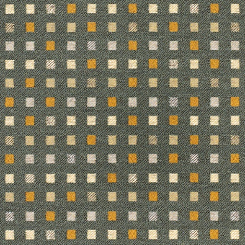 Momentum Textiles Upholstery Fabric Small Check Kinney Steel Toto Fabrics