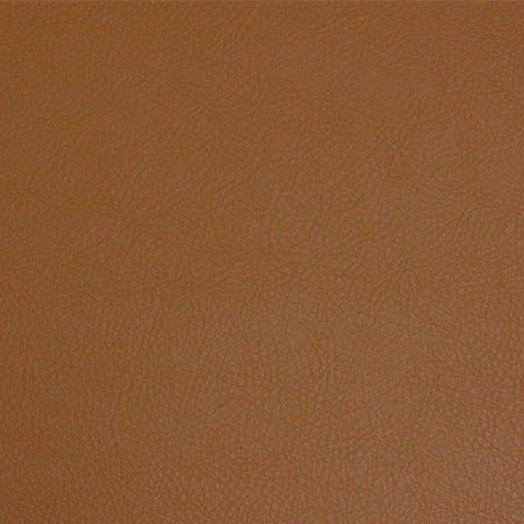 Maharam Lariat Camel Faux Leather Vinyl Brown Upholstery Fabric