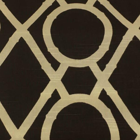 Robert Allen Lattice Bamboo Terrain Brown Upholstery Fabric